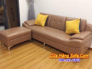 Ghế sofa văng nhỏ đẹp cho phòng khách chung cư SFD099