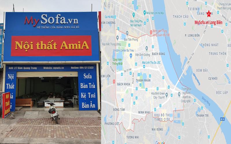 Cửa hàng bán sofa đẹp giá rẻ tại quận Hai Bà Trưng