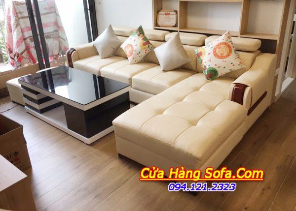Ghế sofa góc chữ L SFD130 cho phòng khách sang trọng