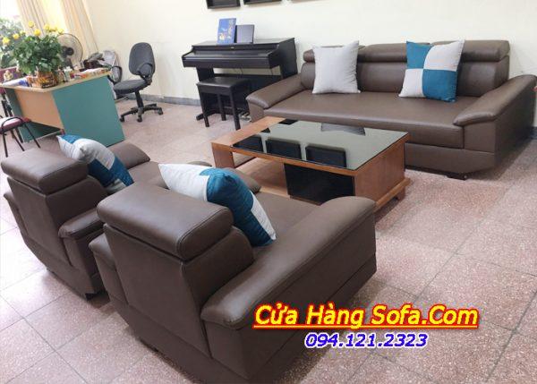 Bộ ghế sofa phòng khách đẹp SFD083