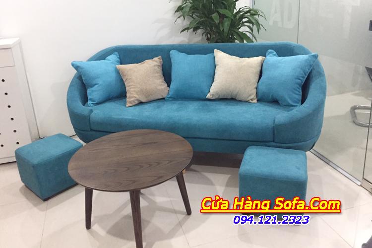 Ghế sofa văng nỉ nhỏ hiện đại cho phòng khách SFD135