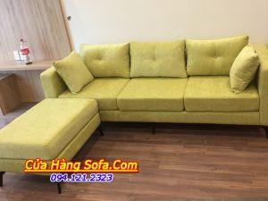 Mẫu ghế sofa văng nỉ đẹp cho phòng khách nhỏ SFN114
