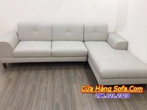 Mẫu sofa da công nghiệp cho phòng khách sang trọng SFD192