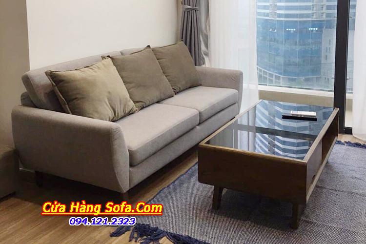 Bàn ghế sofa phòng khách chung cư nhỏ được ưa chuộng SFN151944