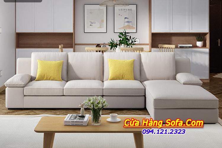 Hình ảnh bộ sofa nỉ cho phòng khách lớn SFN151872