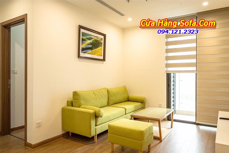 Mẫu ghế sofa văng nỉ phòng khách đẹp SFN151943. Với gam màu xanh nõn chuối rất bắt mắt độc đáo. Bạn có thể thay đổi màu sắc theo bảng màu tùy ý muốn của quý khách