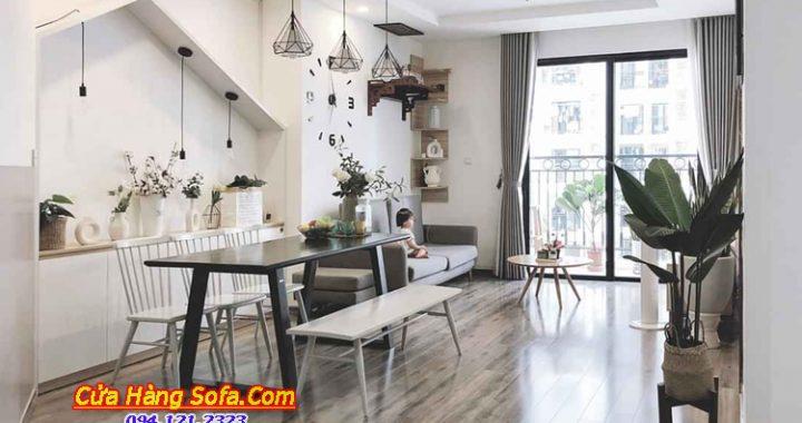 Sofa chung cư - Xu hướng và những mẫu ghế sofa ưa chuộng nhất