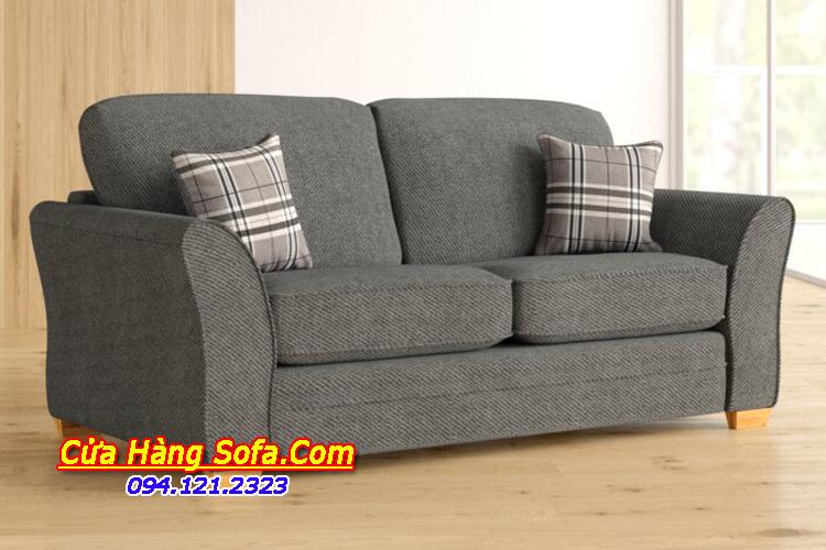 Bộ ghế sofa nỉ hiện đại với phần nệm và gối dựa được thiết kế tháo rời. Bạn có thể dễ dàng cho việc giặt dũ mỗi khi bị bẩn