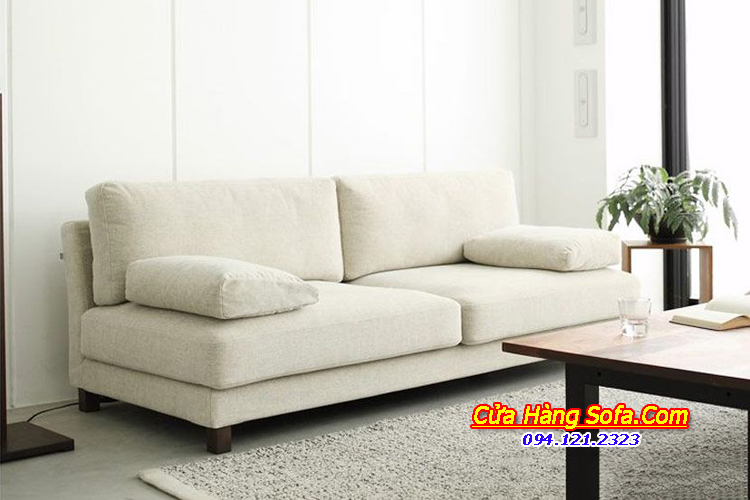 Mẫu ghế sofa văng nỉ đẹp cho phòng khách SFN151979