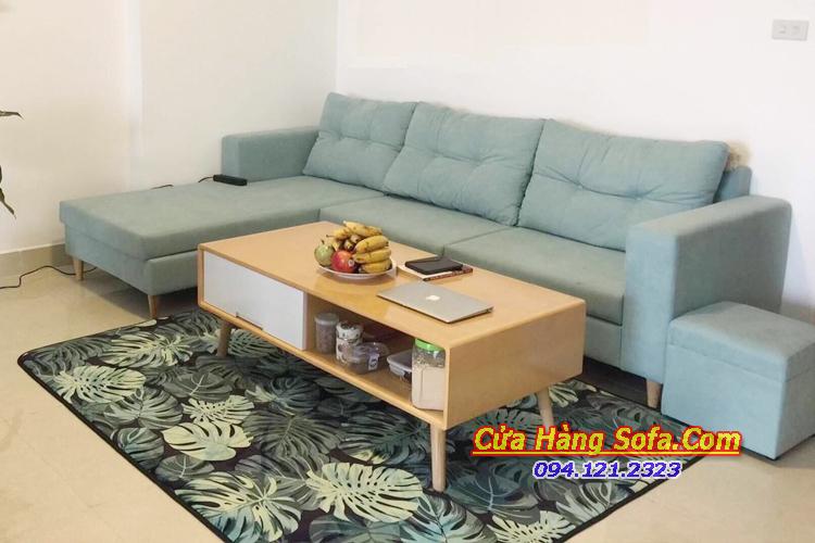 Mẫu bàn ghế sofa phòng khách chung cư SFN151947