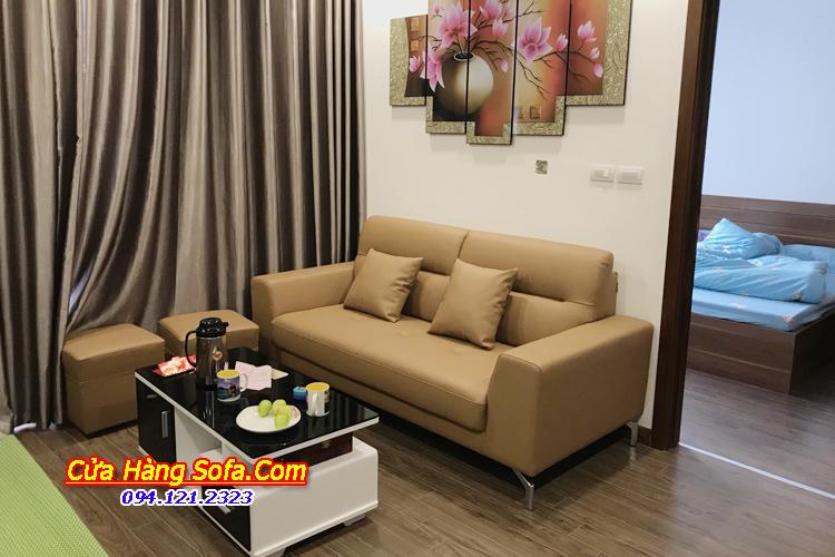 Mẫu bàn ghế chung cư hiện đại cho phòng khách SFD1350