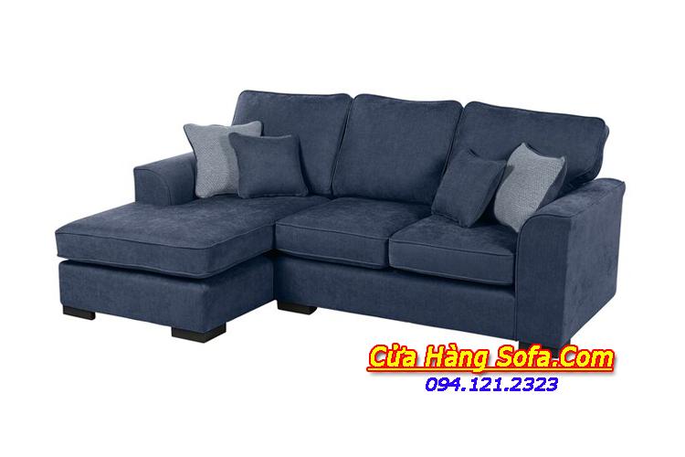 Mẫu ghế sofa góc chữ L SFN151883 với chất liệu nỉ đẹp