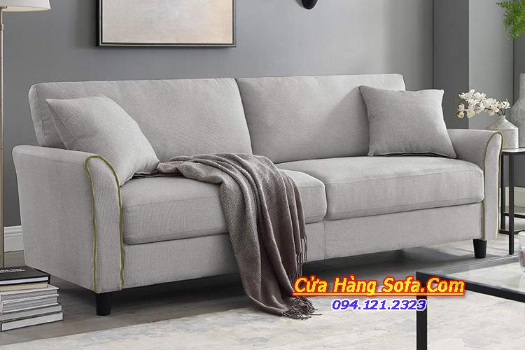 Mẫu bàn ghế sofa văng nỉ cho phòng khách kích thước nhỏ SFN151972