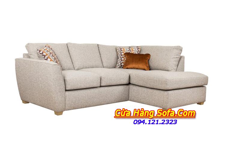 Mẫu ghế sofa góc nỉ rộng rãi SFN151917 cho những căn hộ chung cư