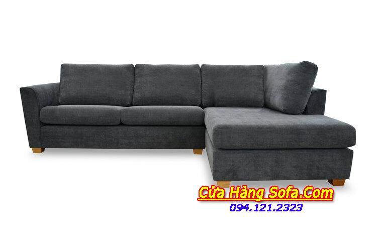 Mẫu ghế sofa nỉ cho phòng khách hiện đại SFN151889. Với thiết kế rộng rãi giúp bạn có thể nằm nghỉ ngơi thoải mái, dễ chịu hơn