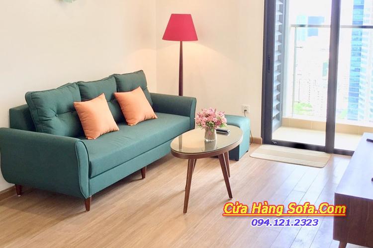 Mẫu ghế sofa văng nhỏ cho phòng khách SFN151949
