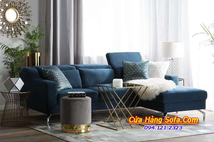 Mẫu ghế sofa góc chữ L cho phòng khách rộng SFN151958