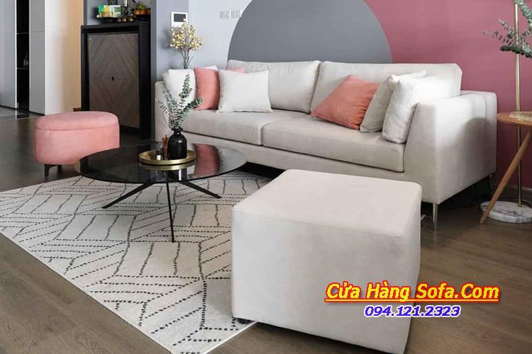 Mẫu bàn ghế sofa cho phòng khách nhỏ SFN15151