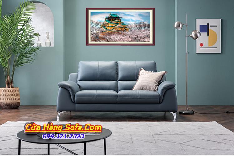 Mẫu sofa da phòng khách chung cư đẹp SFD151977