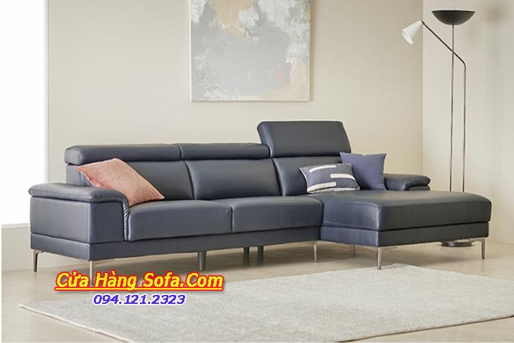 Mẫu ghế sofa da cho phòng khách chung cư rộng SFD151975