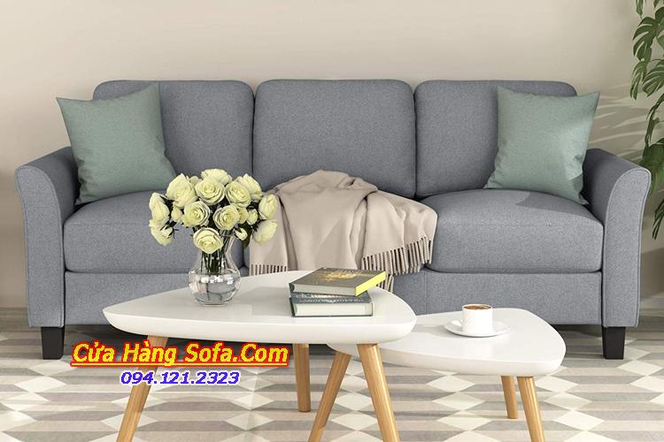 Mẫu ghế sofa văng 3 chỗ ngồi kích thước nhỏ đẹp cho phòng khách SFN15174