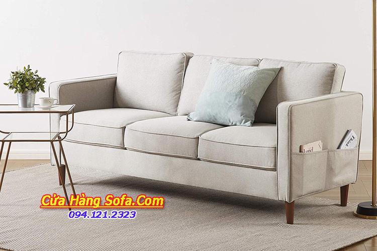 Mẫu ghế sofa văng nỉ cho phòng khách nhỏ đẹp SFN151973