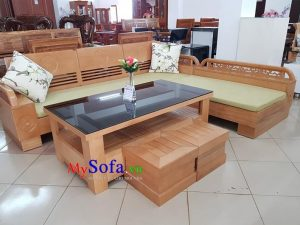 ghe sofa go soi cao cap ke phong khach sfg014