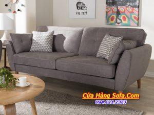 Mẫu sofa văng nỉ đẹp kích thước nhỏ cho phòng khách SFN156